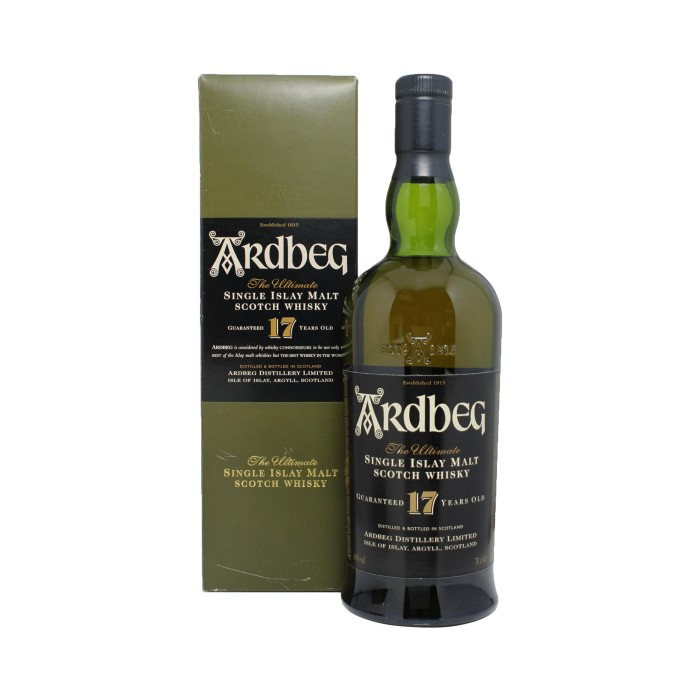 Ardbeg 17 Year Old (Signed) with box