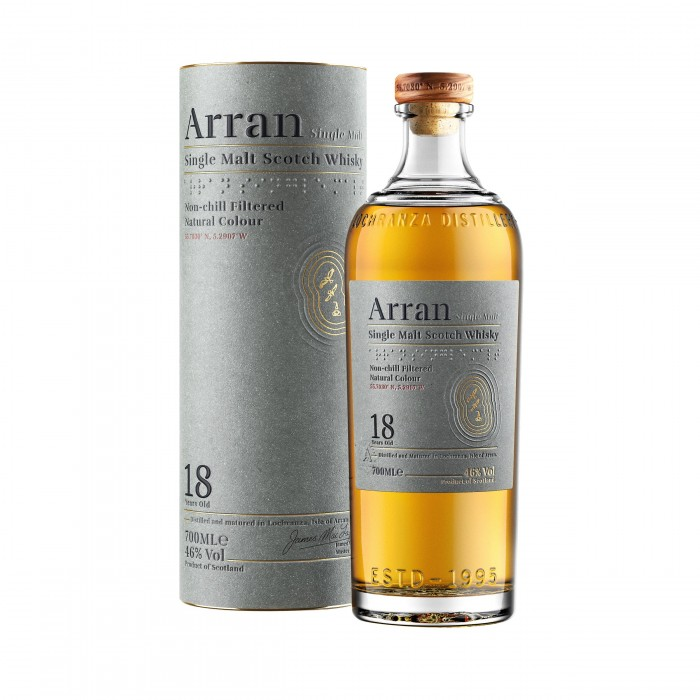 Arran 18 Year Old with box