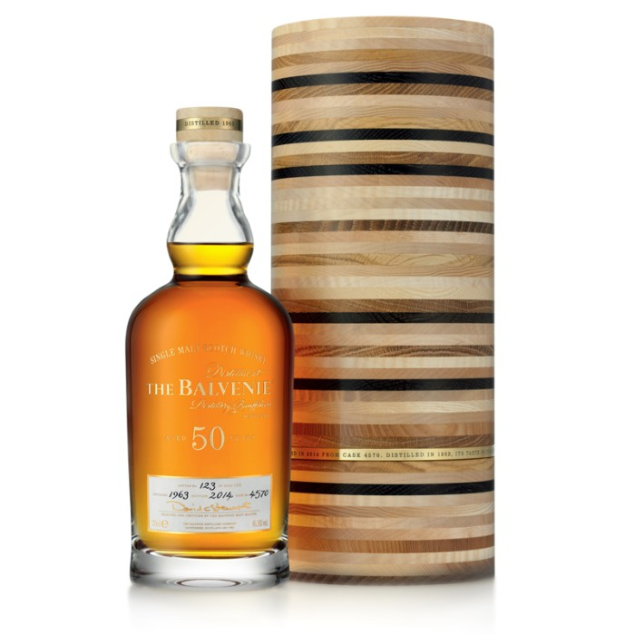 The Balvenie 50 year old Cask 4570 (2014 Release)