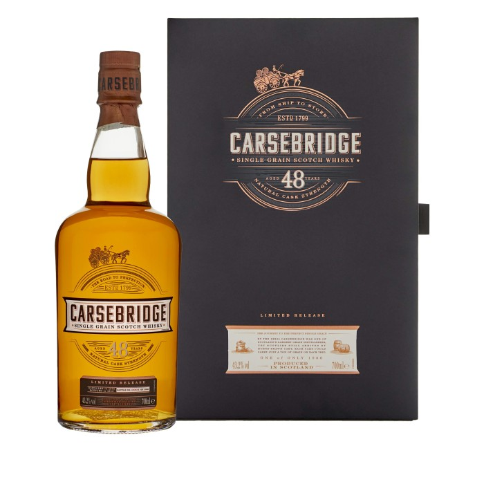 Carsebridge 48 Year Old 2018 Special Release with box