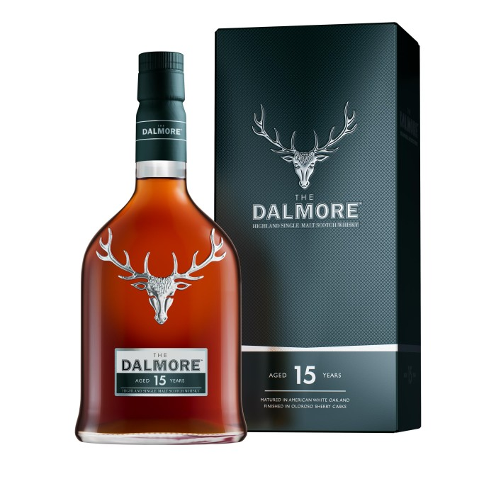 The Dalmore 15 Year Old with box
