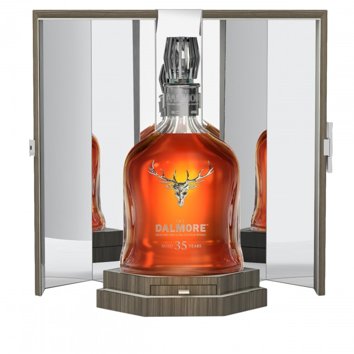 Dalmore 35 Year Old in case