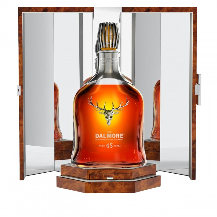 Dalmore 45 Year Old in case