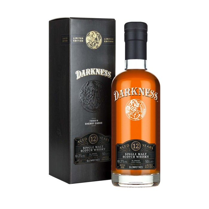 Darkness Glenrothes 12 Year Old Oloroso Cask Finish