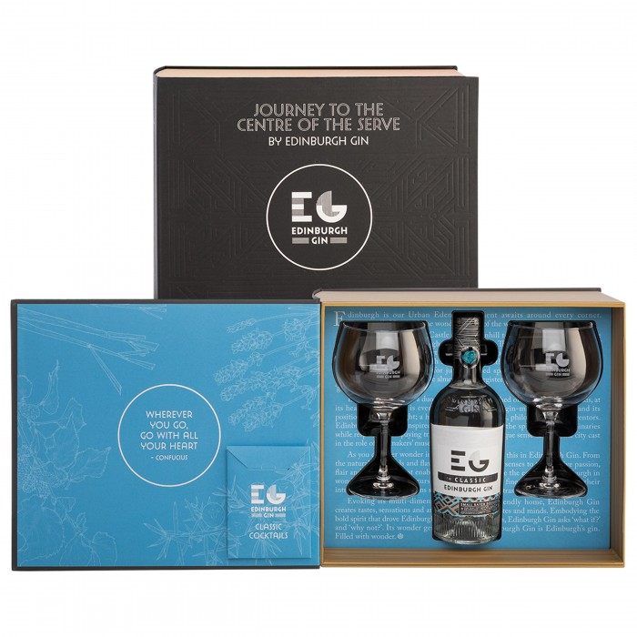 Edinburgh Gin Journey to the Centre of the Serve Gift Set