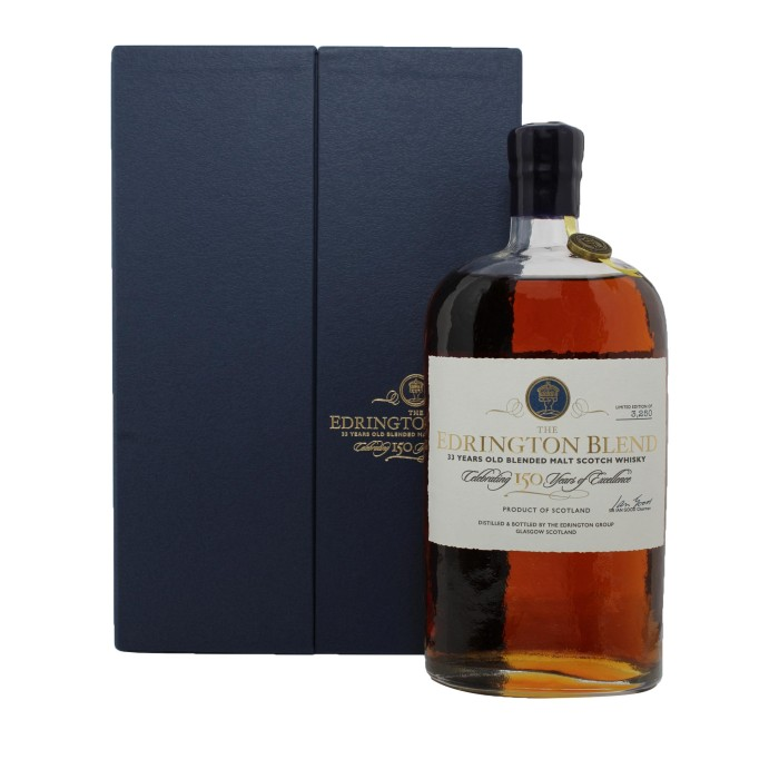 The Edrington Blend 33 Year Old 150th Anniversary with case