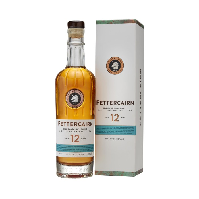 Fettercairn 12 Year Old with box