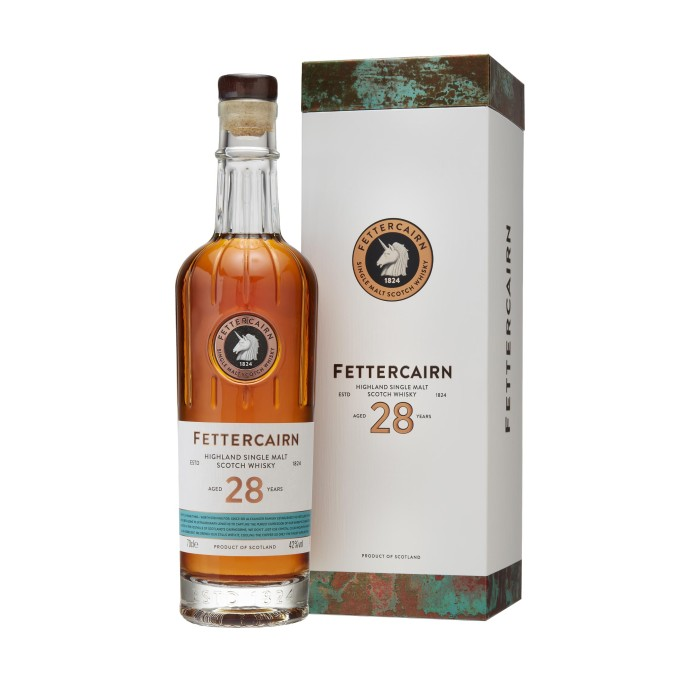 Fettercairn 28 Year Old with box