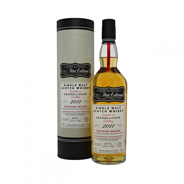 First Editions Craigellachie 2011 with box