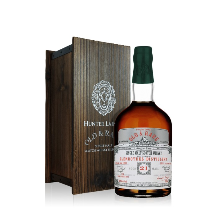 Glenrothes 21 Year Old Platinum Old & Rare