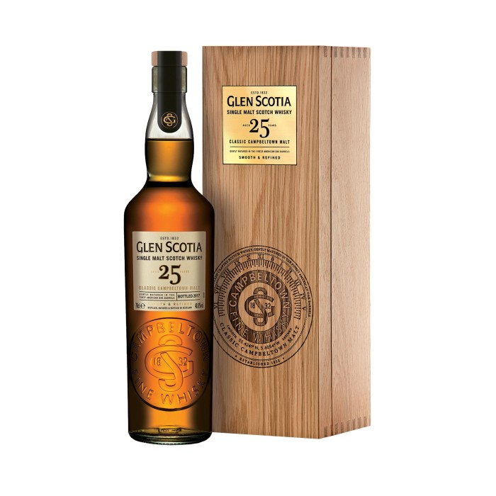 Glen Scotia 25 Year Old with case