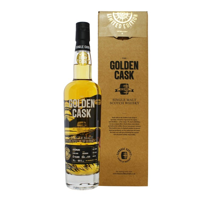 Golden Cask Ardmore 12 Year Old