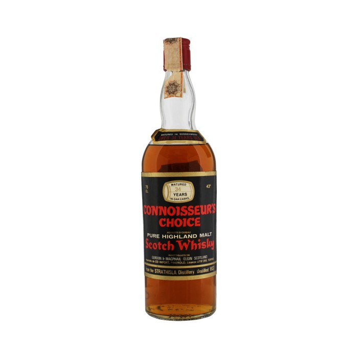 Strathisla 1937 34 Year Old Sherry Wood Connoisseurs Choice