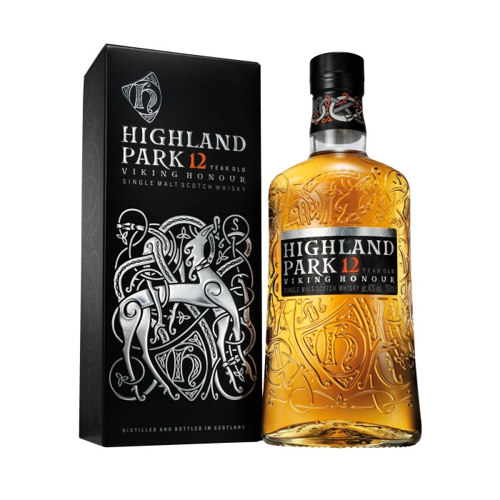 Highland Park 12 Year Old with box