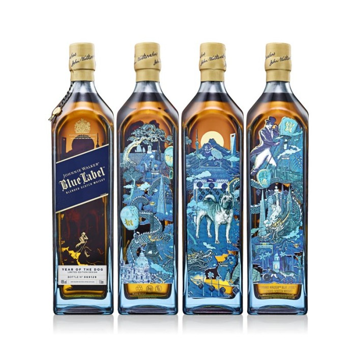 Johnnie Walker Blue Label Chinese New Year - Year of the Dog