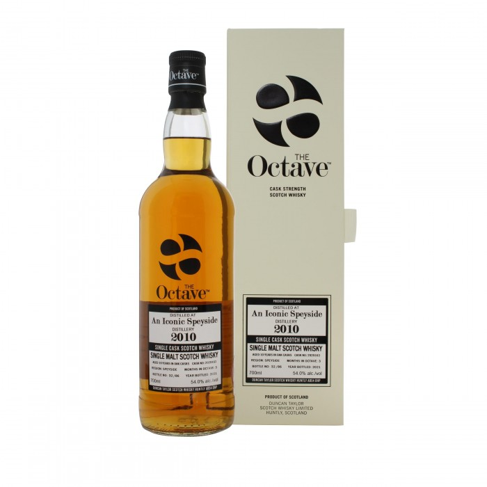 The Octave An Iconic Speyside 2010 10 Year Old