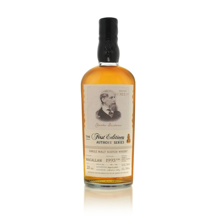 Macallan 1993 - Authors' Series - Charles Dickens
