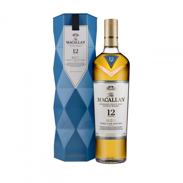 Macallan 12 Year Old Triple Cask in limited edition Gift Box