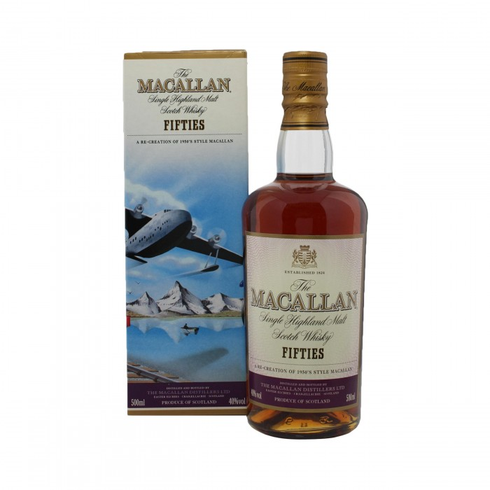 Macallan Decades Fifties with box