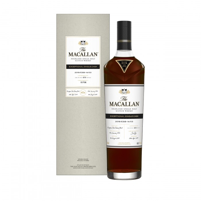 Macallan Exceptional Single Cask 2019/ESB-14/03 with box
