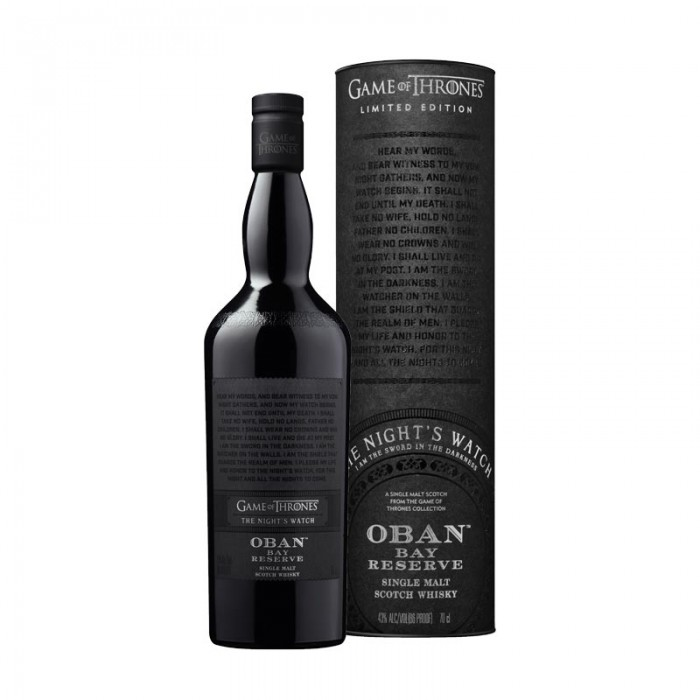Oban Bay Reserve - Game of Thrones The Night's Watch with box