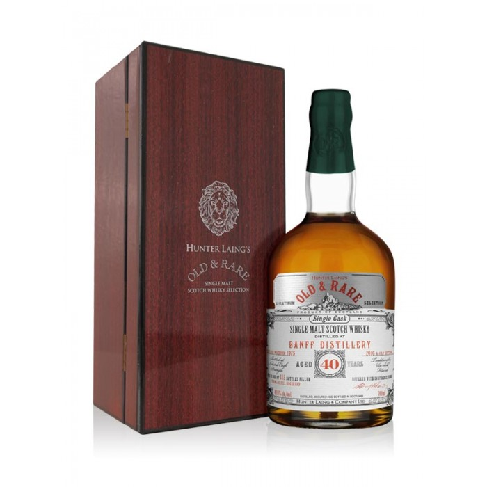 Banff 40 Year Old Platinum Old and Rare