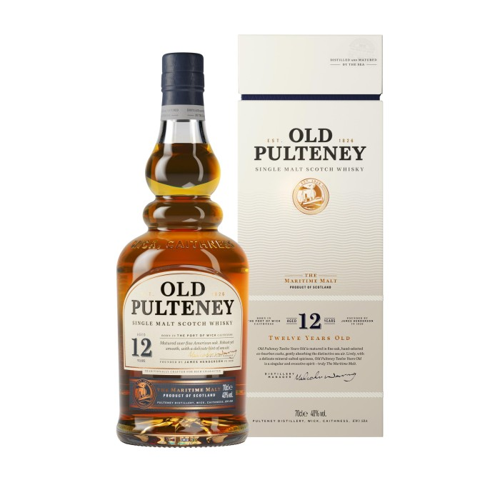 Old Pulteney 12 Year Old with box