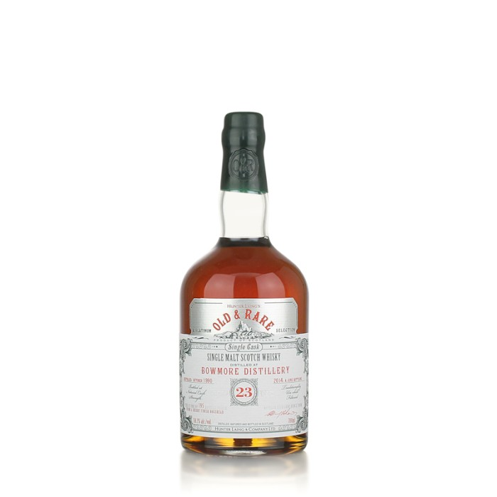 Bowmore 23 year old Platinum Old and Rare