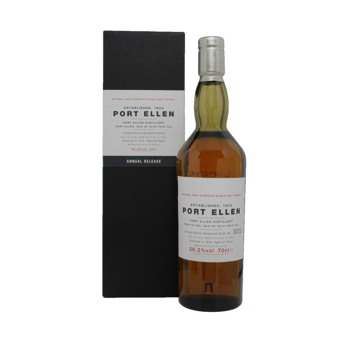 Port Ellen 1979 1st Annual Release with box