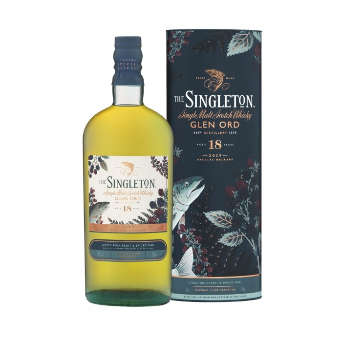 Singleton of Glen Ord 18 Year Old Special Releases 2019 with box