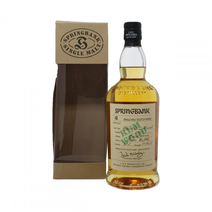 Springbank 12 Year Old Rum Wood 1989 with box