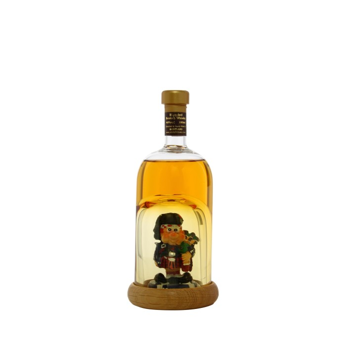 Stylish Whisky Mini Piper Decanter 10cl