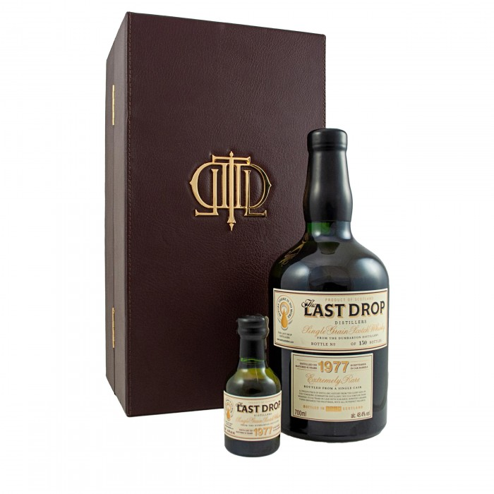 The Last Drop Dumbarton 1977 with sample and case