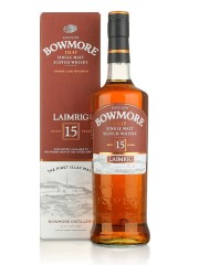 Bowmore Laimrig 15 year old with free glass
