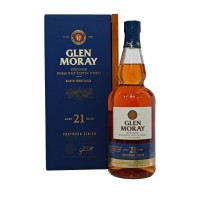 Glen Moray 21 Year Old with case