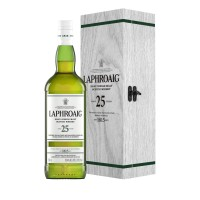 Laphroaig 25 Year Old Cask Strength with case