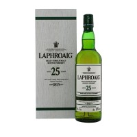 Laphroaig 25 Year Old 2018 with box