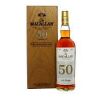 Macallan 50 Year Old with case