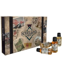 Scotland in a Box with bottles
