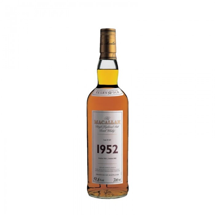 Macallan 1952 50 Year Old (Cask 627) Fine & Rare