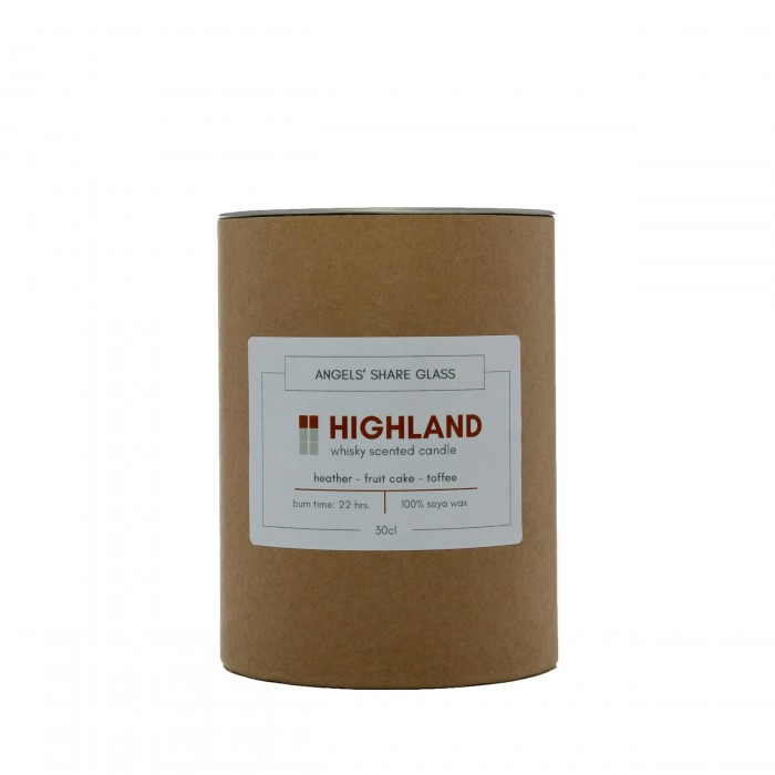 Highland Whisky Scented Candle