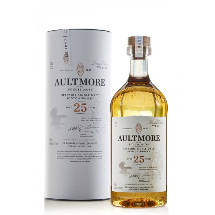 Aultmore 25 year old Limited Edition