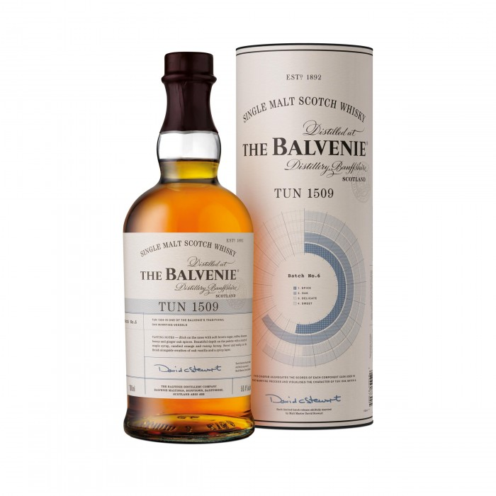 Balvenie Tun 1509 Batch 6 with box