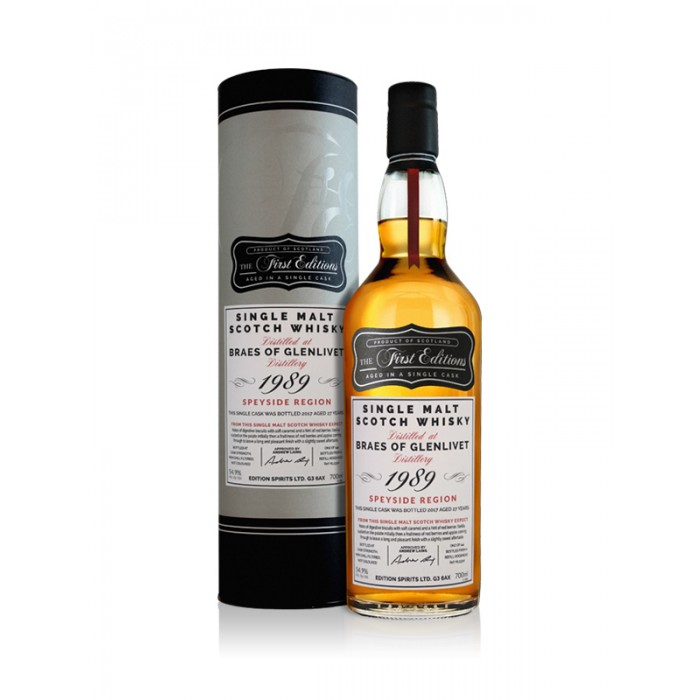 First Editions Braes of Glenlivet 1989