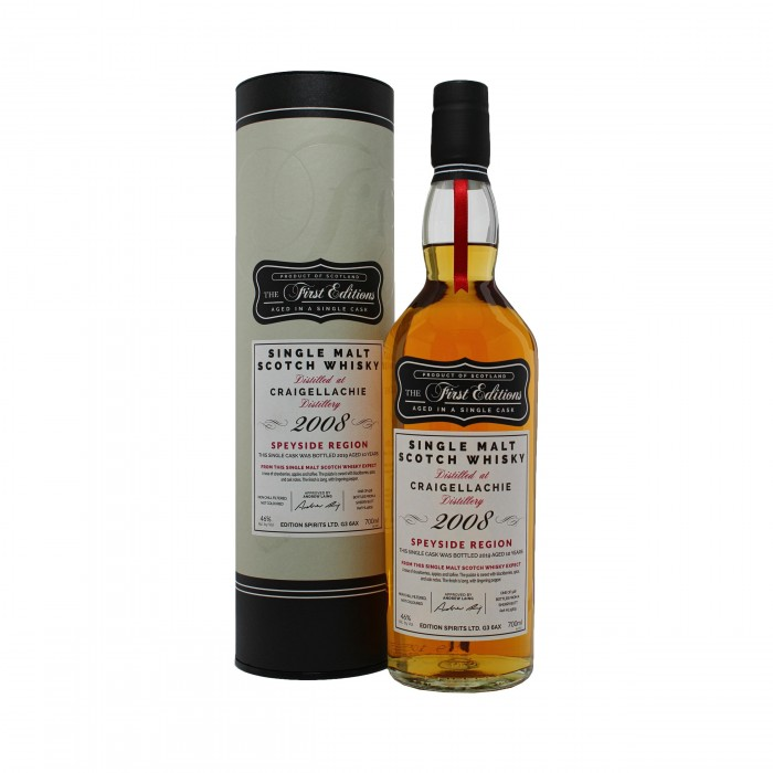 First Editions Craigellachie 2008 with box