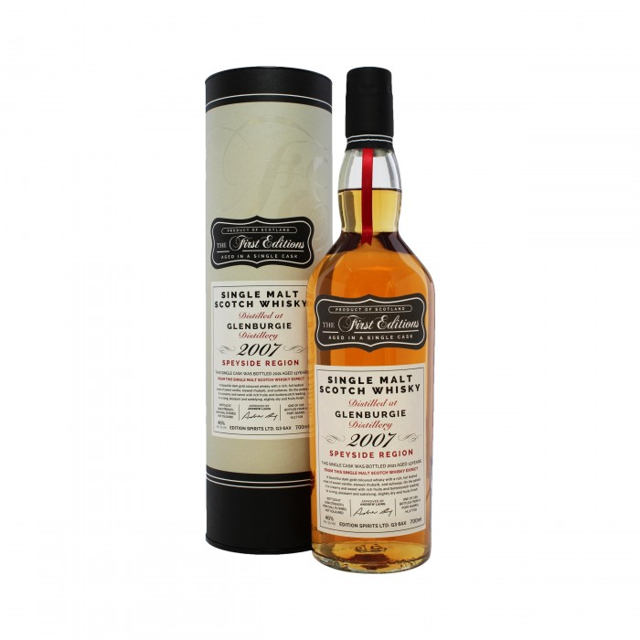 First Editions Glenburgie 13 Year Old 2007