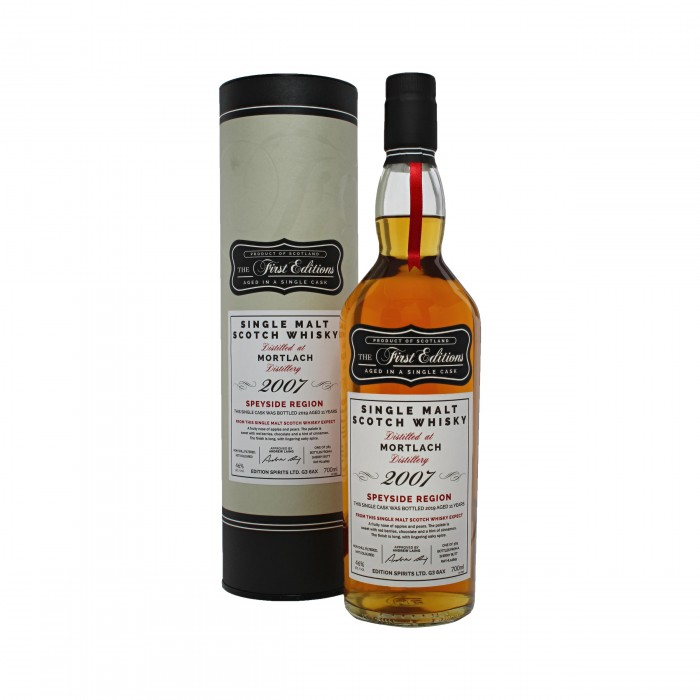 First Editions Mortlach 2007 with box
