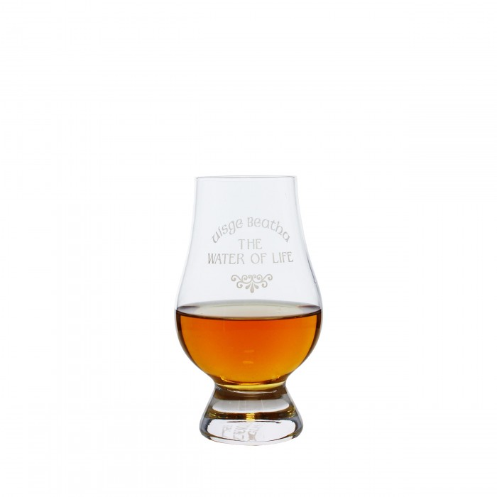 The Water Of Life Glencairn Whisky Glass