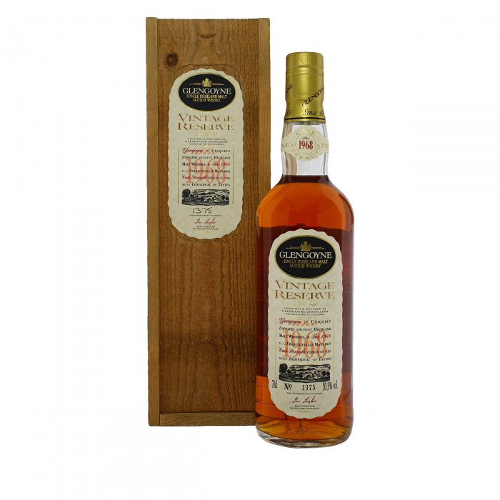 Glengoyne 1968 with case