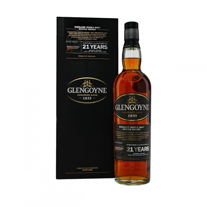 Glengoyne 21 Year Old with box